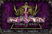 Video Game: Ascension: Storm of Souls