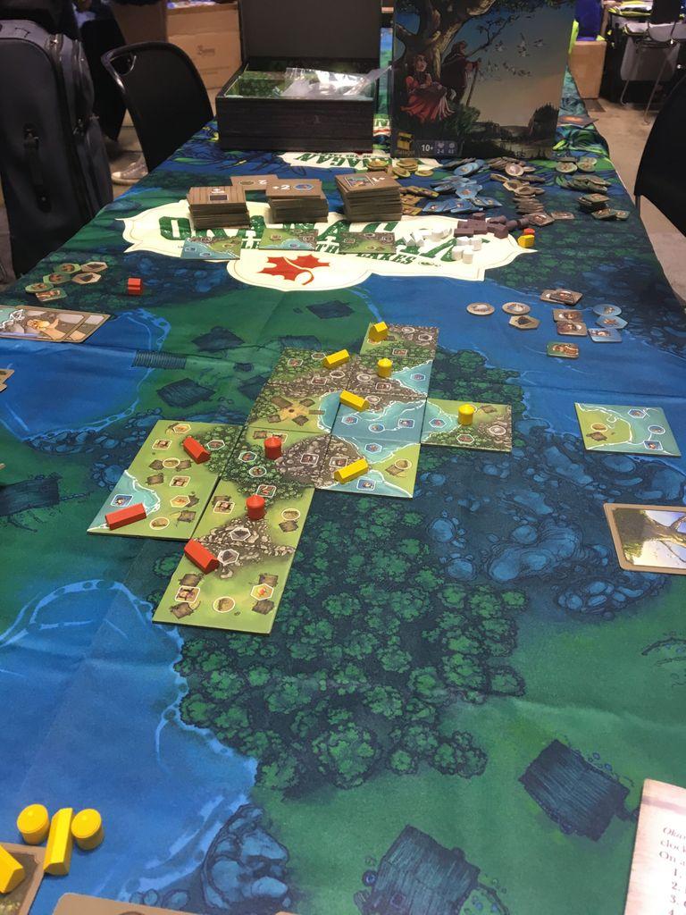 Board Game: Okanagan: Valley of the Lakes