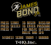 Video Game: James Bond Jr.