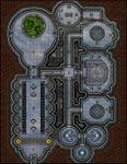 RPG Item: VTT Map Set 264: Martian Equipment Repair Plant