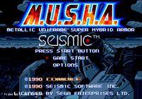 Video Game: M.U.S.H.A.