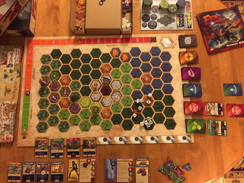 Board Game: Escape from 100 Million B.C.