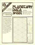 RPG Item: Planetary Data Sheet