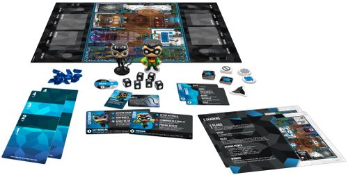 Board Game: Funkoverse Strategy Game: DC Comics 101