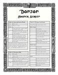 RPG Item: Donjon Master Screen