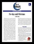 RPG Item: Five Days Until Christmas