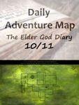RPG Item: Daily Adventure Map 027: The Elder God Diary 10/11