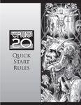 RPG Item: True20 Quick Start Rules