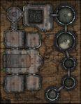 RPG Item: VTT Map Set 234: Hydrocarbon Fuel Refinery