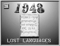 RPG Item: Lost Languages