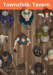 RPG Item: Jan's Token Pack 009: Townsfolk: Tavern