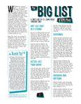 RPG Item: The Big List of RPG Plots