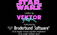 Video Game: Star Wars: The Arcade Game