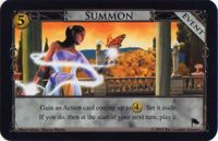 Board Game: Dominion: Summon Promo Card