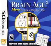 Video Game: Brain Age²: More Training in Minutes a Day!