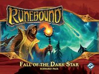 Board Game: Runebound (Third Edition): Fall of the Dark Star – Scenario Pack