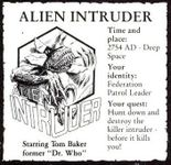 RPG Item: Alien Intruder