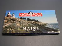 Board Game: Monopoly: Maine Edition