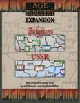 Board Game: Age of Industry Expansion: Belgium & USSR