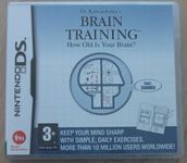 Video Game: Brain Age: Train Your Brain in Minutes a Day!