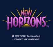 Video Game: Uncharted Waters: New Horizons