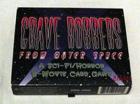 Board Game: Grave Robbers From Outer Space
