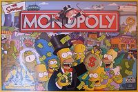Board Game: Monopoly: The Simpsons