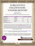 RPG Item: Forgotten Encounters: Underground