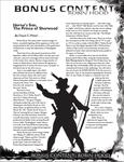 RPG Item: Bonus Content: Robin Hood
