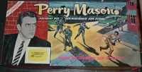 Board Game: Perry Mason Game: Case of the Missing Suspect