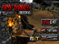 Video Game: Army of Darkness Defense