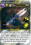Board Game: Mage Wars: Staff of Storms Promo Card