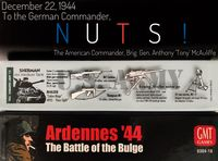 Board Game: Ardennes '44: The Battle of the Bulge