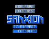 Video Game: Sanxion