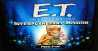 Video Game: E.T. The Extra-Terrestrial:  Interplanetary Mission