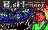 Video Game: Bio Menace
