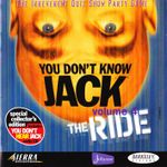 Video Game: You Don't Know Jack Volume 4: The Ride