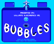 Video Game: Bubbles