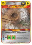 Board Game: Terraforming Mars: Small Asteroid Promo Card