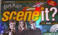 Board Game: Scene It? Harry Potter Second Edition