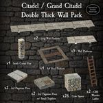 RPG Item: Citadel / Grand Citadel Double Thick Wall Pack