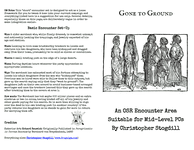 RPG Item: Gone to Ground