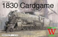Board Game: 1830 Cardgame
