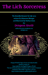 RPG Item: Monthly Monster 15-07DW: The Lich Sorceress