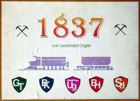 Board Game: 1837: Rail Building in the Austro-Hungarian Empire