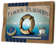 Board Game: Famous Flagships: The World's Smallest Yacht Racing Game