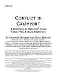 RPG Item: SPEC4-3: Conflict in Calimport