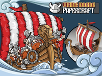 Board Game: Viking Horde: Papercraft