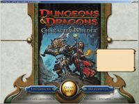 RPG Item: D&D Character Builder (Classic Edition)