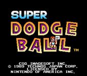 Video Game: Super Dodge Ball